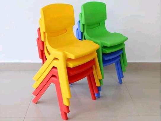 Kindergarten Plastic Chairs image 3