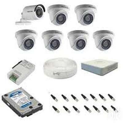 COMPLETE CCTV SET FOR 8 CAMERA image 3