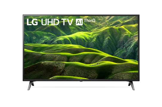 Hisense 55 Inch 4k Full UHD Smart TV Android 9.0 HDR Bluetooth 5.0 DTS Sound Google apps Black 55 inch-NEW MODEL image 1