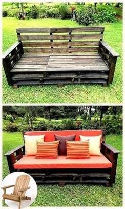 Beautiful Modern Functional 3 Seater Pallet Sofa image 1