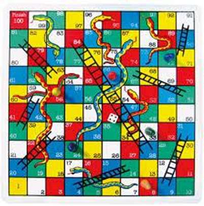 Snake and ladder game image 1