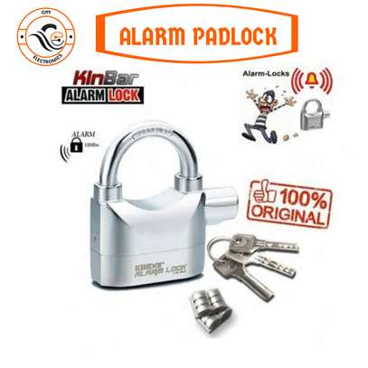 Alarm Lock Siren For Home And Office Security image 1