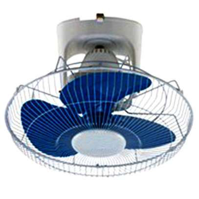RAMTONS WHITE AND BLUE, ORBIT FAN, 3 SPEED- RM/461 image 1