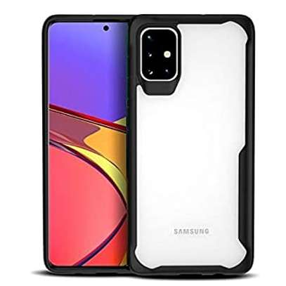 IPAKY Hybrid Shockproof Transparent Case for Samsung A71 A51 A31 image 1