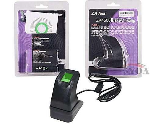 ZKTeco ZK4500 Fingerprint Reader - Biometric Scanner - Black image 1