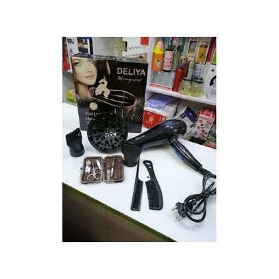 Deliya Hair Blow Dryer With Free Manicure Set image 2