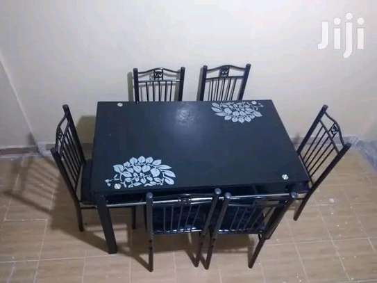 Home classic dining set with 6 chairs image 1