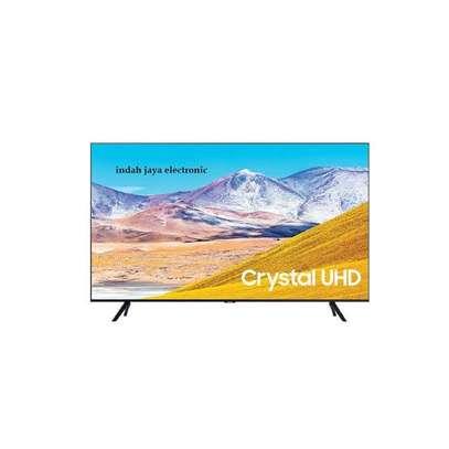 Samsung 55TU8000 4K UHD Smart Flat Series 8 Model - 2020 - Black image 1