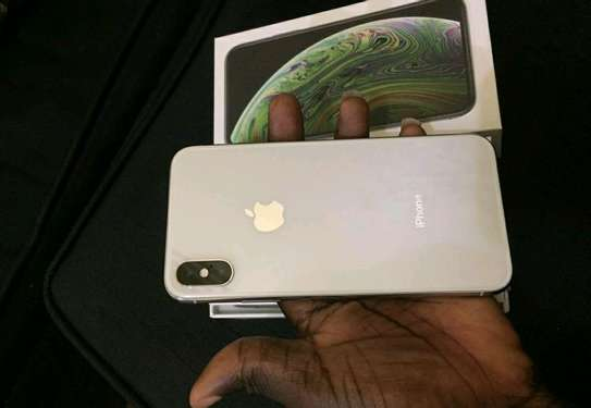 Apple Iphone Xs Max  / 512 Gigabytes / Silver And Wireless Airpods image 1