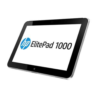 HP ElitePad 1000 G1, 10.1″ Windows Tablet, 64 GB, Black/Silver image 1