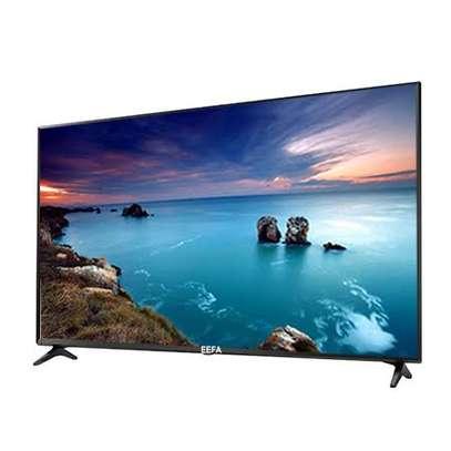 EEFA Android 50 inches Smart Frameless UHD-4K Digital TVs image 1