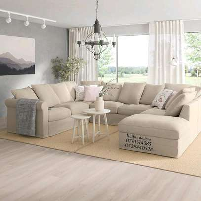 Latest U shaped sofa designs for sale in Nairobi Kenya/modern shaped sofas/eight seater sofas image 1