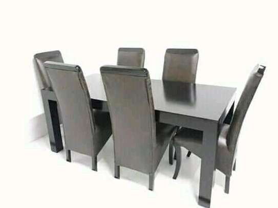 Fabulous Contemporary Quality 6 Seater Dining Set