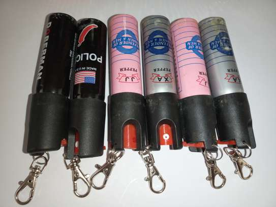 Pepper Spray Key Chain Customized For Self Defense image 2