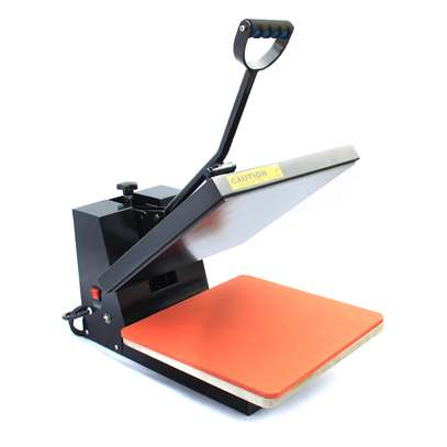 Sublimation Manual Ordinary Flat Heat Press Machine for T-shirt image 3