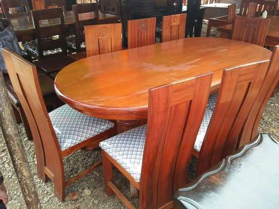 8 Seater Mahogany Dining Table Sets. image 4