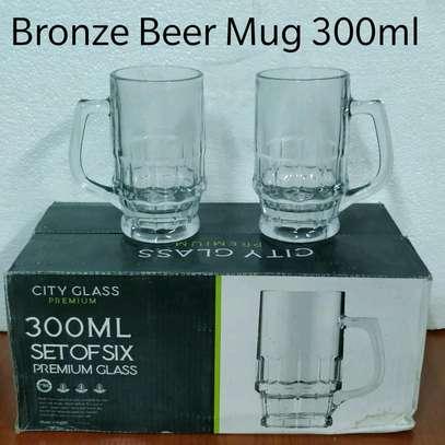 Bronze beer mug 300ml image 1