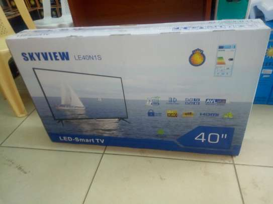 "Sky view 40"" smart led android TV"