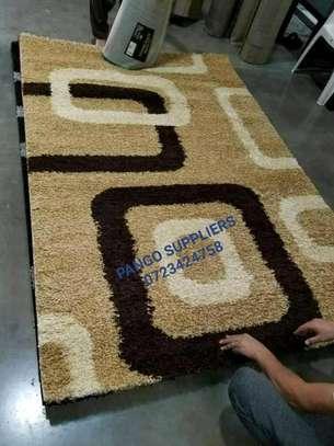 Turkish shaggy carpets(6'9) image 3