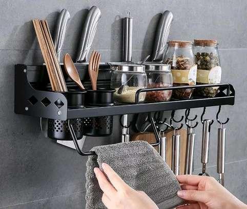 kitchen organizer rack image 1