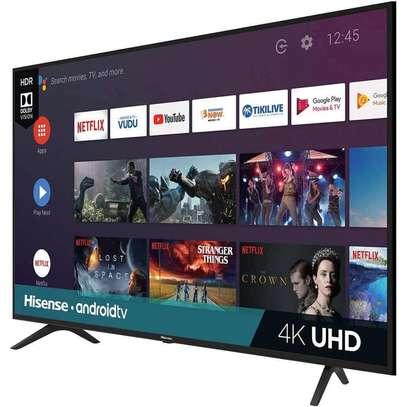 Hisense 55inch 4k ultra HD smart LED TV image 1