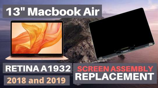 """Silver/Gold/Grey A1932 LCD Screen assembly for Macbook Air Retina 13"""" A1932 Screen Display Replacement Late 2018 image 1"""