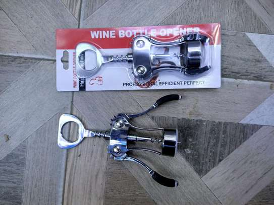 Wine bottle cork screw image 1