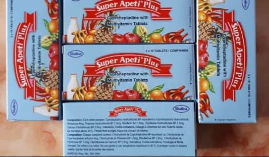 SUPER APETI PLUS | WEIGHT GAIN | LOSS OF APPETITE – 20 TABLETS