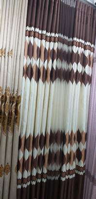 Matched curtains and sheers image 2