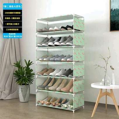 Portable shoe rack image 4