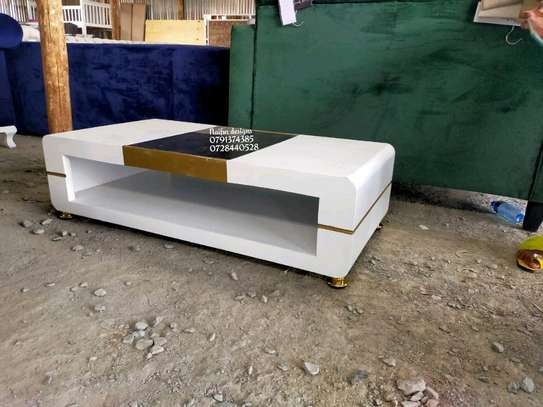 Coffee table/modern coffee tables/white coffee table image 1
