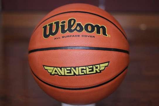 Nike, Adidas and Wilson Basketballs