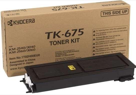 Black Kyocera TK-675 Toner Cartridge(TK675) image 1