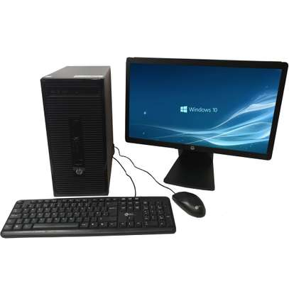 HP MINITOWER 400 G2 INTEL CORE I5. image 1