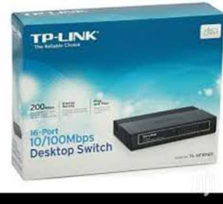 Networking equipment: Tp link 16 port switch image 1
