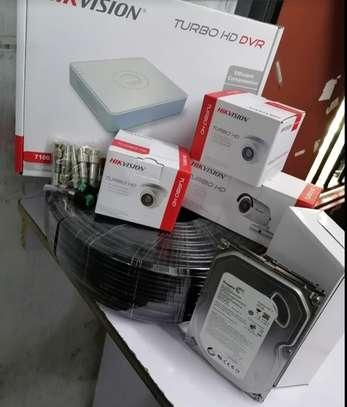 4CCTV Camera Complete Sales Package 720p image 1