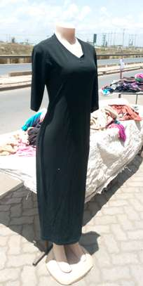 Black full dress image 2