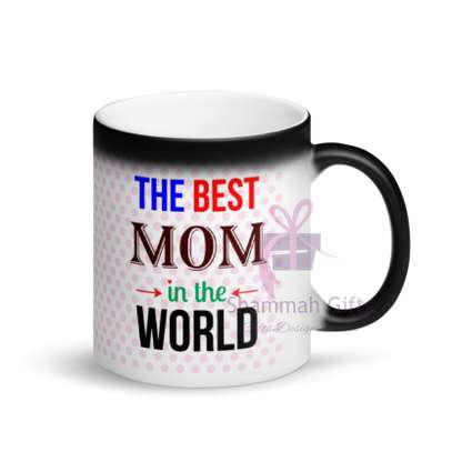 Colour changing mug printed with personalized design image 3