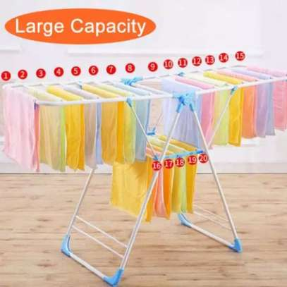 Adjustable Laundry Drying Rack For Clothes Hanger image 1