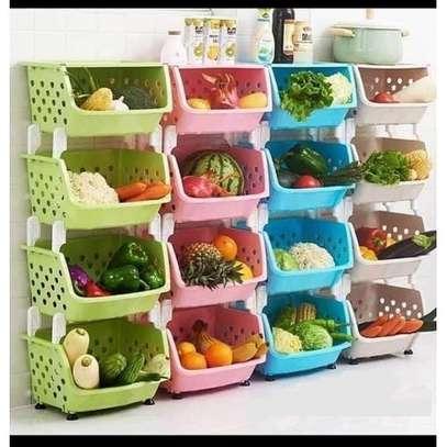Generic 4 Tier Vegetable/Fruit Rack image 1