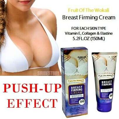 Breast firming  cream  with Natural ingredients  Amino Acids,,vitamins.