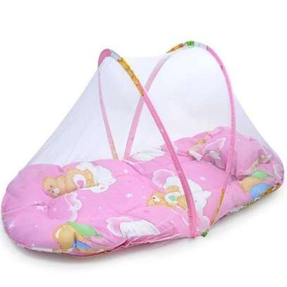 Baby Travel Bed,Baby Bed Portable Folding Baby Crib Mosquito Net Portable Baby Cots Newborn Foldable Crib Bassi Net image 1