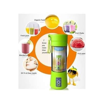 Portable Blender Juicer Cup / Electric Fruit Mixer / USB Rechargeable Juice Blender 380mL image 4