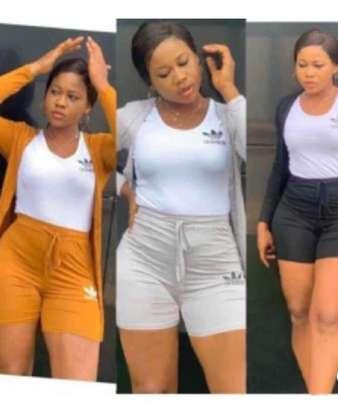 3 piece adidas shorts image 1
