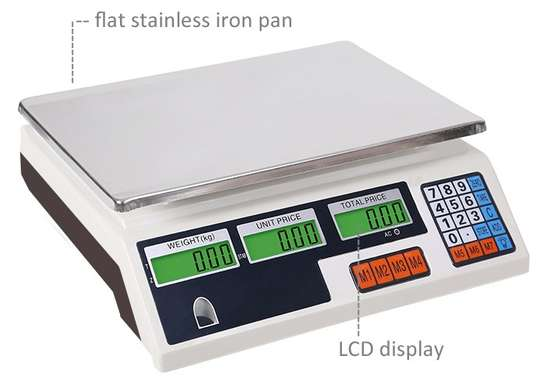 30kg Counting Scale table top image 1
