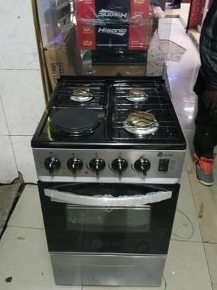 3+1 Nunix Stand Cooker With Oven image 1