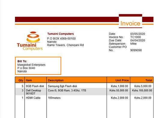 Best Application for Invoicing,Quotation,Recording payment and Sales Report
