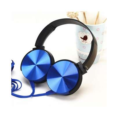 Extra Bass Stereo Headsets - Blue. image 1