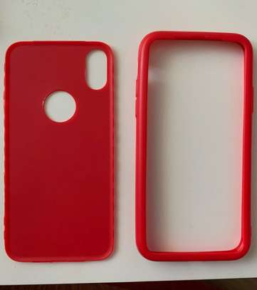 360 full protective cover tpu soft rubber phone case for iPhone X/XS image 6
