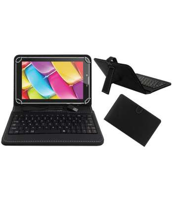 Tablet Case With Micro USB Keyboard for Samsung Galaxy Tab 2 3 4 10.1 inches image 4